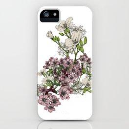 "Flower Arrangement Fall in Love Series "" Love is growing slowly"" iPhone Case"