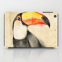 toucan iPad Cases featuring Toucan by akaori_art