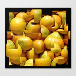 Photocollage - oranges 2 Canvas Print