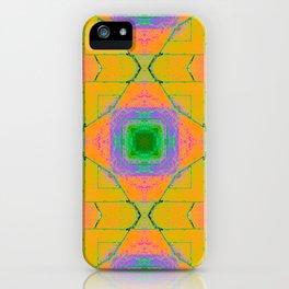 Vibrant Squares iPhone Case