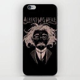 Albert Einstein iPhone Skin