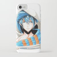 iwatobi iPhone & iPod Cases featuring Free! Iwatobi Swim Club Haruka by Mistiqarts