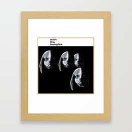 With the Beagles (Remastered) Framed Art Print