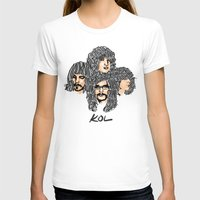 leon T-shirts featuring Kings of leon by KVNCHRLZ