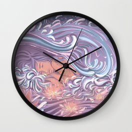 Rhapsody in Blue Wall Clock