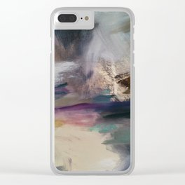 Valley Hues Clear iPhone Case