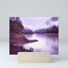 Shasta Lake Subdued Mini Art Print