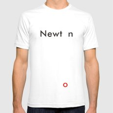 Newton Mens Fitted Tee X-LARGE White