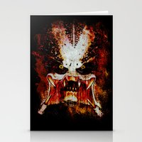 predator Stationery Cards featuring Predator by Sirenphotos