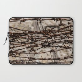 Barbed Wire Pattern Laptop Sleeve