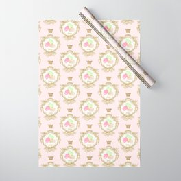 French Patisserie Macarons Wrapping Paper