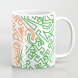 Tipping Point - Red & Green Coffee Mug