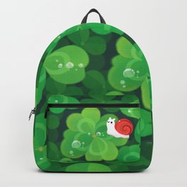 Happy lucky snail Backpack