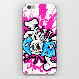 Skull Pops iPhone Skin