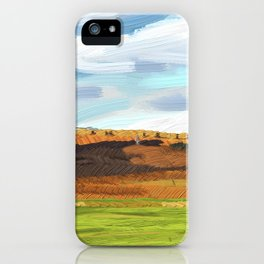 Farming Plain iPhone Case