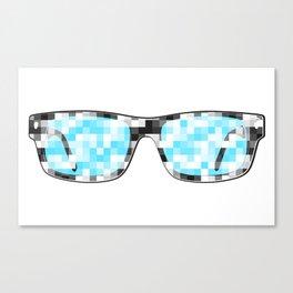 Pixeleted Canvas Print