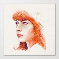 FRANÇOISE HARDY Canvas Print