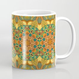 African Floral Pattern 3A Coffee Mug