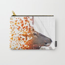 Caution Deer by GEN Z Carry-All Pouch