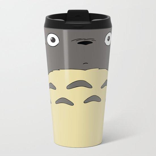 My neighbor troll - Studio Ghibli Metal Travel Mug