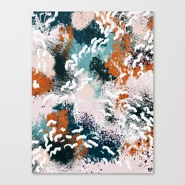 Clara Abstract Canvas Print