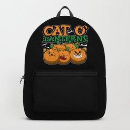 Cat O'Lanterns - Kitten Pumpkins - Feline Costume Backpack