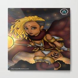 Empress Warrior Metal Print
