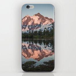 Cascade Sunset - Mt. Shuksan - Nature Photography iPhone Skin