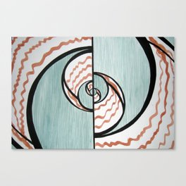 Forest & Curls Canvas Print