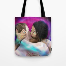 Crytalized kiss ,the lover Tote Bag