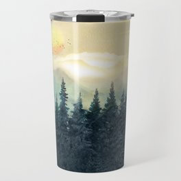 Forest Under the Sunset II Travel Mug