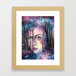 Lost in an Old Memory Framed Art Print