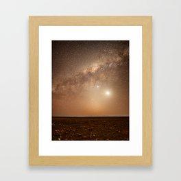 Chilean Stars Framed Art Print