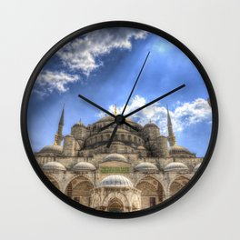 The Blue Mosque Istanbul Wall Clock