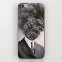 power iPhone & iPod Skins featuring Outburst by J U M P S I C K ▼▲