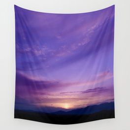 SW Mountain Sunrise - 7 Wall Tapestry