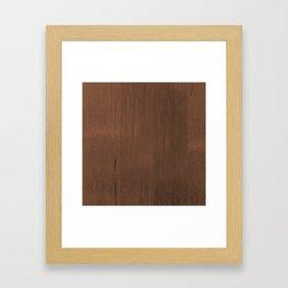 Wood Feeling Framed Art Print