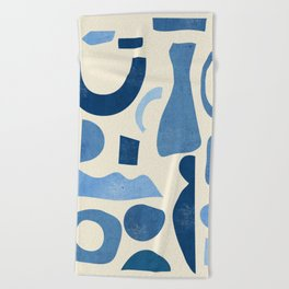 Abstract Shapes 38 Beach Towel