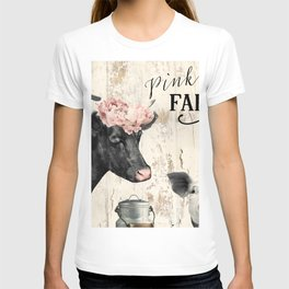Pink Nose Farm I T-shirt