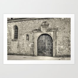 Oviedo pages #2 Art Print