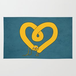 Jake the heart Rug