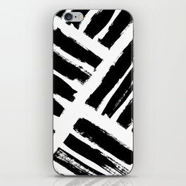 Abstract Monochrome 02 iPhone Skin