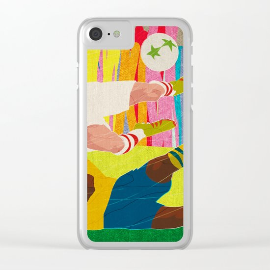 Deciding Game. Clear iPhone Case