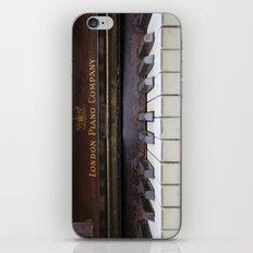 Piano keys Old antique vintage music instrument iPhone Skin