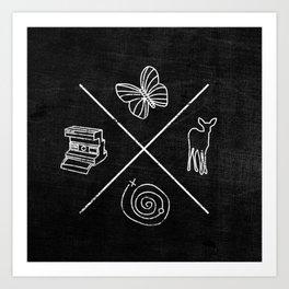 Life is Strange symbols Art Print