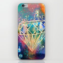 Let it Shine iPhone Skin