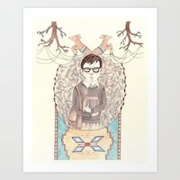 imagination Art Prints featuring Imagination by Brooke Weeber