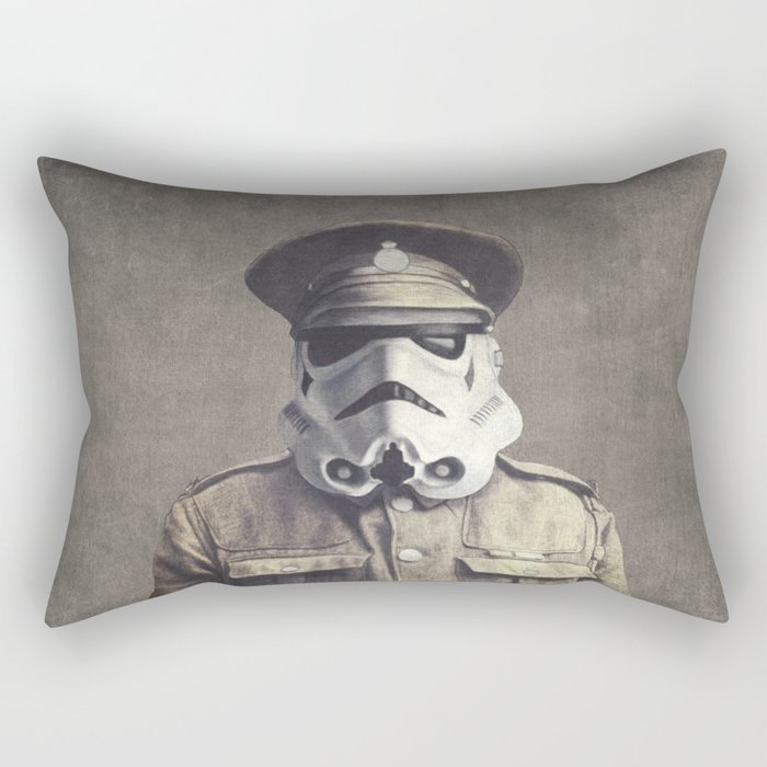 Sgt. Stormley - square format Rectangular Pillow