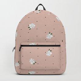 Gardenia pattern pink Backpack