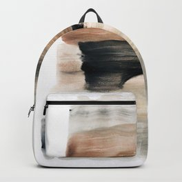abstract minimal 9 Backpack